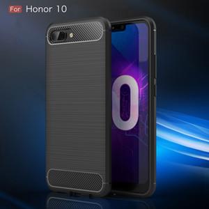 Для Honor 10i Case Carbon fiber Cover 360 полная защита телефона Case для Huawei Honor 10 I Cover прочный противоударный бампер Shell