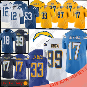 17 Philip Rivers 99 97 Joey Bosa Los Angeles Jersey Carregador 13 Ty Hilton 53 Darius Leonard Derwin James 18 jerseys Peyton Manning