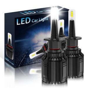 2x H1 Auto Car LED Headlight Kit 10000LM Car Driving Fog Lamps Replace Bulbs White 6500K H3 H4 H7 H11 9005 9006 Free Shipping