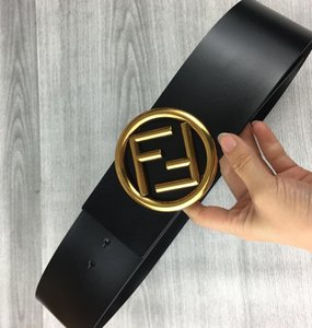cinturón de cuero de alta calidad 2020new señoras de moda de cuero suave de las letras ocasionales de cuero hebilla de cinturón de 7cm cuerpo de la correa de la venta caliente negro y rojo