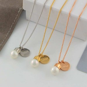 Luxury fashion design 925 silver necklace summer fresh water pearl necklace for women as birthday gift or Mother's Day gift and daily