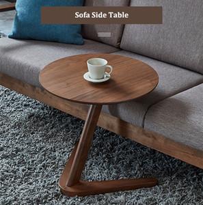 مكتب المنزل طاولة جانبية أثاث جولة القهوة للمكتب غرفة معيشة صغيرة بجانب السرير تصميم الجدول نهاية الجدول Sofaside الحد الأدنى الصغيرة