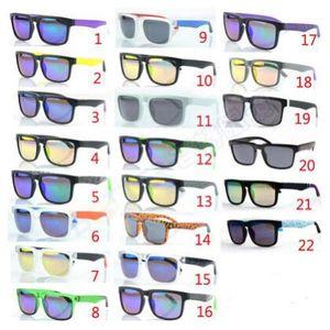 Marca Designer Spied KEN BLOCK Sunglasses Helm 22 Cores Da Moda Dos Homens Quadrados Frame Brasil Hot Masculino Condução Óculos de Sol Shades Eyewear