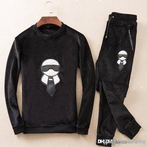 Mens Designer Tracksuits Luxury Winter Brand Mens Tracksuits Jogger Suits Jacket Pants Sets Casual Cotton Suit Plus Size M-3XL