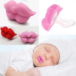 Unisex Yenidoğan Casual emziği Bebek Ağız Silikon Sevimli güçlendirmek Able Bebekler İçin Yatıştırıcı Dudak bebek diş etleri emziği