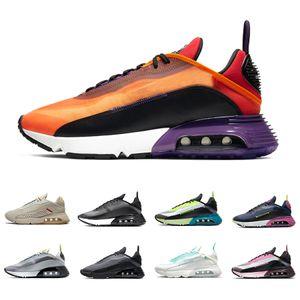 Nike air max 2090 airmax Stock X Duck Camo 2090 Mens running shoes Pure Platinum 2090s Photon Dust Clean White black men women Outdoor sports designer sneakers 36-45