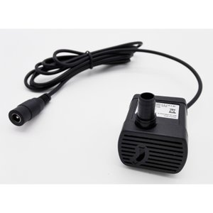 Home Improvement JT-1020 5.5*2.1mm or USB Connector Brushless DC 5V 150L h 12V 280L h Micro Submersible Aquarium Water Pump