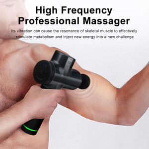 Muscle Hot Tools Massagem Electric Gun Terapia Fisioterapia Voltar Corpo Hypervolt Massager aumentar o músculo Pain Relief Exercício físico