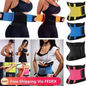 DHL Fast Free Shippng Waist Trainer Cincher Man Women Xtreme Thermo Power Body Shaper Girdle Belt Underbust Control Corset Firm
