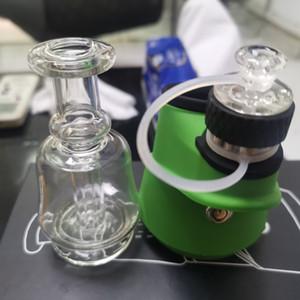 Min.1pcs SOC Enail Aksesuar Wax Atomizer Bowl Cam Bong Cam Kapak İçin Mum Atomizer Bowl Elektronik Sigara