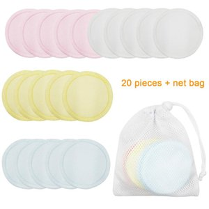 Portable Skin Care Home Cotton Blend Washable Makeup Remover Pad Round Multifunctional Facial Cleaner Soft Face Eye Reusable