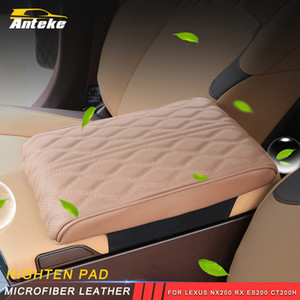 For Lexus NX200 RX ES200 CT200h Car Care Armrest Box Protector Cover Leather Mat Heighten Cushion Interior Accessories