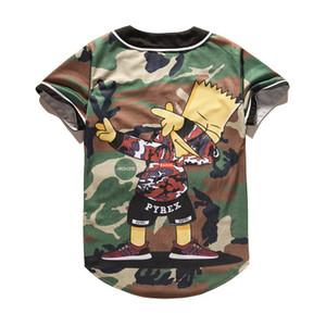 New Style Man Baseball Jerseys Sport Shirts 3D Fashion With Button Good Quality
