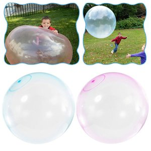 L S M Size Children Outdoor Soft Air Water Filled Bubble Ball Blow Up Balloon Toy Fun party game gift for kids inflatable gift