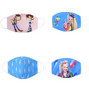 Kids Face Mask Cubrebocas Tapabocas Cloth Face Mask Cute Dust Masks Children Baby Cartoon Warm Pure Cotton Double Dust Mask sweet7