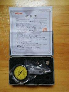 Yeni Japon hassas takım Mitutoyo kadran testi göstergesi 0-0.8mm 513-404 0.01mm kolu çevir göstergesi * 1