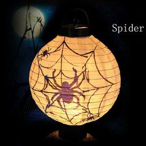 2019 Новый Fahsion событие или вечеринка Хэллоуин старинные тыквы замок свет лампы партии висит светодиодный декор фонарь