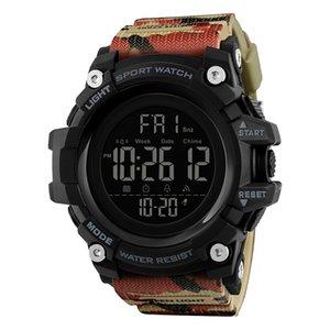 Moda Masculina Relógios digitais Professional Waterproof SHOCK Relógio de pulso Semana militar do exército de alarme resistente Relógio Eletrônico