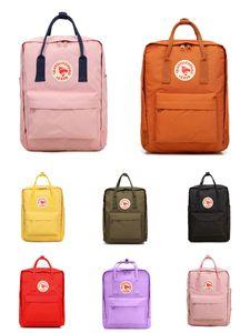 Fjallraven Kanken Classic Sky Blue Backpacks Fashion Style Design Bag Junior Canvas Waterproof Backpacks #QA894