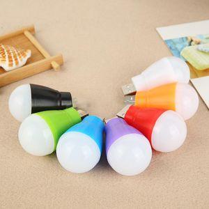 새로운 휴대용 led 에너지 절약 램프 usb 작은 전구 무선 컴퓨터 모바일 전원 비상 USB 빛