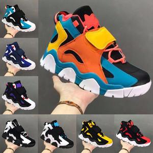 2020 nuovi pattini Barrage Mid QS Mens Basketball Pipen Sport Sneakers Raptors Hyper uva Rams alta qualità Airs uptempo Trainers Designer 7-13