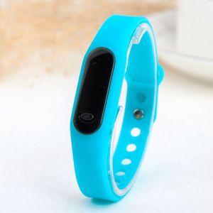 Xiaomi bracelet sports electronic Silicone Bracelet watch silicone tape thin strip LED watch