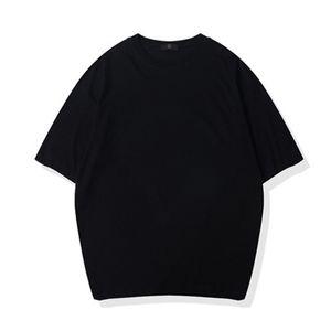 Plain Black Womans Oversized T shirt 100% Cotton Men Short Sleeve Hip Hop Shoulder Drop T-shirt Nxcaps Wholesale