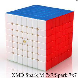 Mofangge X-Man Conception SparkM 7x7 Cube Magnétique Qiyi Spark M 7x7x7 Vitesse Cubes WCA Puzzle Magic Cube Puzzle Jouets pour enfants