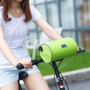 Armação de Bicicleta Para tubo de cabeça Top impermeável Tela bicicleta Bolsa de toque do telefone móvel saco de armazenamento de bicicleta Bolsas Mountain Bike Acessórios RRA3127