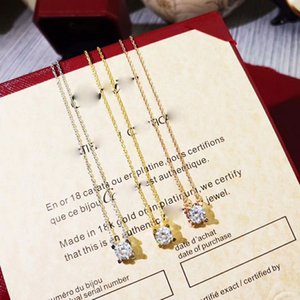 Four-claw necklace designer bracelet rings luxury jewelry women earrings bracelet mens 14k gold chains cuban link chain