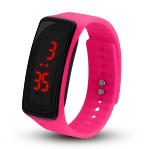 Womens Ladies Mens Kids Digital LED Waterproof Sports Wrist Watches Bracelet Digital Sports Wristwatch for student 100 up