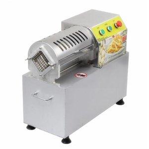 Ticari Elektrikli Şerit Makineleri içine Bölünmüş Makine Elektrik French Fries Makine Patates Dilimleme Sebzeler Makine French Fries Kesme