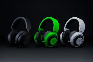 Analógico Gaming Headset Razer Kraken Pro V2 Headphones totalmente retrátil com microfone Oval almofadas de ouvido para PC Xbox One e Playstation 4