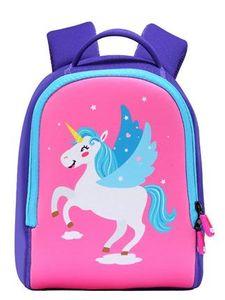 Meng Xiao Miao niños Mochila, unicornio Bebé Mochila Kinder Los niños de dibujos animados Aprendizaje Bolsas Niño Niña regalo de escolar