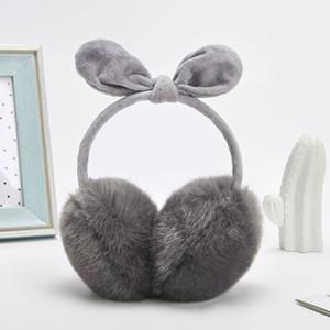 Mode Mode d'hiver Oreilles Earmuffs chaud pour Femmes Hommes Mignon Poilu fausse fourrure Earmuffs Accessoires