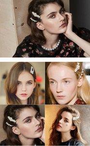 Заколки для девочек ручной работы из бисера чистая красная жемчужная заколка для волос сладкий темперамент заколка для слова клип заколка для волос разные стили