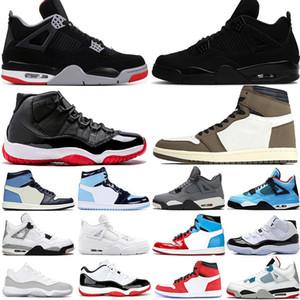 11 New Bred 11s Metallic Silver Concord 45 Jam Mens Basketball Shoes Gym red Snakeskin UNC Men Sport Designer Sneakers