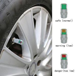 4pcs / Set-Autoreifen-Reifen-Luftdruck Warnanzeige Auto Valve Monitor Stem Sensor Caps Autoreifen 2 0,2 Bar (32psi) oder 2 0,4 Bar (36psi)