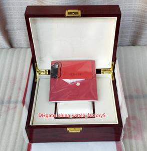 حار بيع أعلى جودة PP نوتيلوس ووتش الأصلي مربع بطاقة أوراق الخشب علب الهدايا حقيبة يد 20 * 16CM لرائد بحار 5711 5712 5990 5980 الساعات
