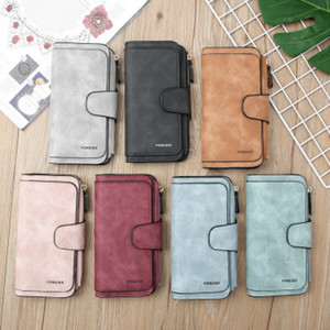 Womens Deisgner Wallet Small Frosted Leather Multi-function Large Capacity Long Wallet Card Bag Clutch Bag Fashion Top Quality Wholesale