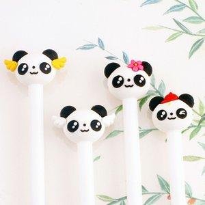 Koreli Kırtasiye Sevimli Panda Jel Kalem Okulu Büro Kawaii Roman Yaratıcı Hediye Kolları Malzemeleri