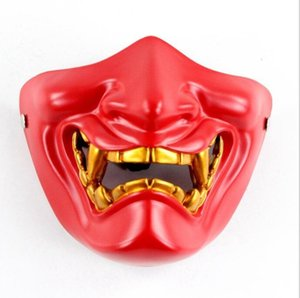 Film Hannya Cosplay Maske Horror Halloween Bühne Harzmaske Kostüm-Party Entertainment Kühle Wiedergabe Prop Drop Ship T200620