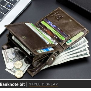 Mens Wallet BMS Deisgner multifonctions Small permis de conduire Porte-Monnaie Carte photo Holder Simple Atmospheric affaires en gros Qualité