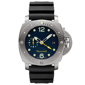 Moda para hombre Reloj impermeable ocasional Hombres mecánico mecánico de acero inoxidable Hombre militar Relogio Masculino Montre de Luxe Reloj de pulsera