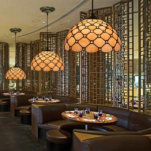 12 Inch Nordic Lampade a sospensione minimalista Camera Tiffany Vintage Light Restaurant Cafe Dinning Room luci appese