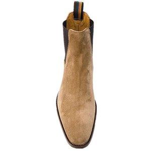 2020 yeni El yapımı Bahar Kış Kanye West Ayakkabı Çizme Bilek Boots Gerçek Deri Düğün Elbise Boots Motosiklet Erkekler Shoes786e #