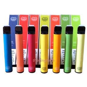 SOUFFLE BAR PLUS 800 + Puff Puff jetables PLUS Cartouche 550mAh batterie 3,2 ml pré-remplies Vape pods bâton de style e Cigarettes Portable Vaporizer