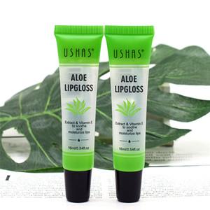 Ushas Moisture Lip Balm Long Lasting Natural Aloe Vera Lip olio colore trasparente Moisturizing Lip Care