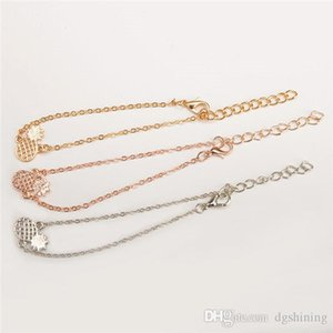 Naturally lovely hollowout three-dimensional pineapple alloy lady fruit bracelet anklets small ornaments Accessories Jewelry For Gift DHL