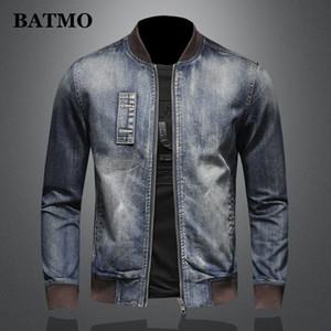 BATMO 2020 new arrival high quality casual denim jackets men,men's casual jackets,plus-size M-5XL H0387